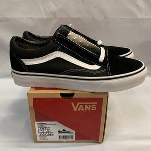 Vans Old Skool Mens Womens Black/White Shoes